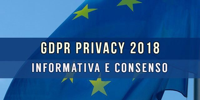 GDPR - Regolamento EU 679/16 - General Data Protection Regulation