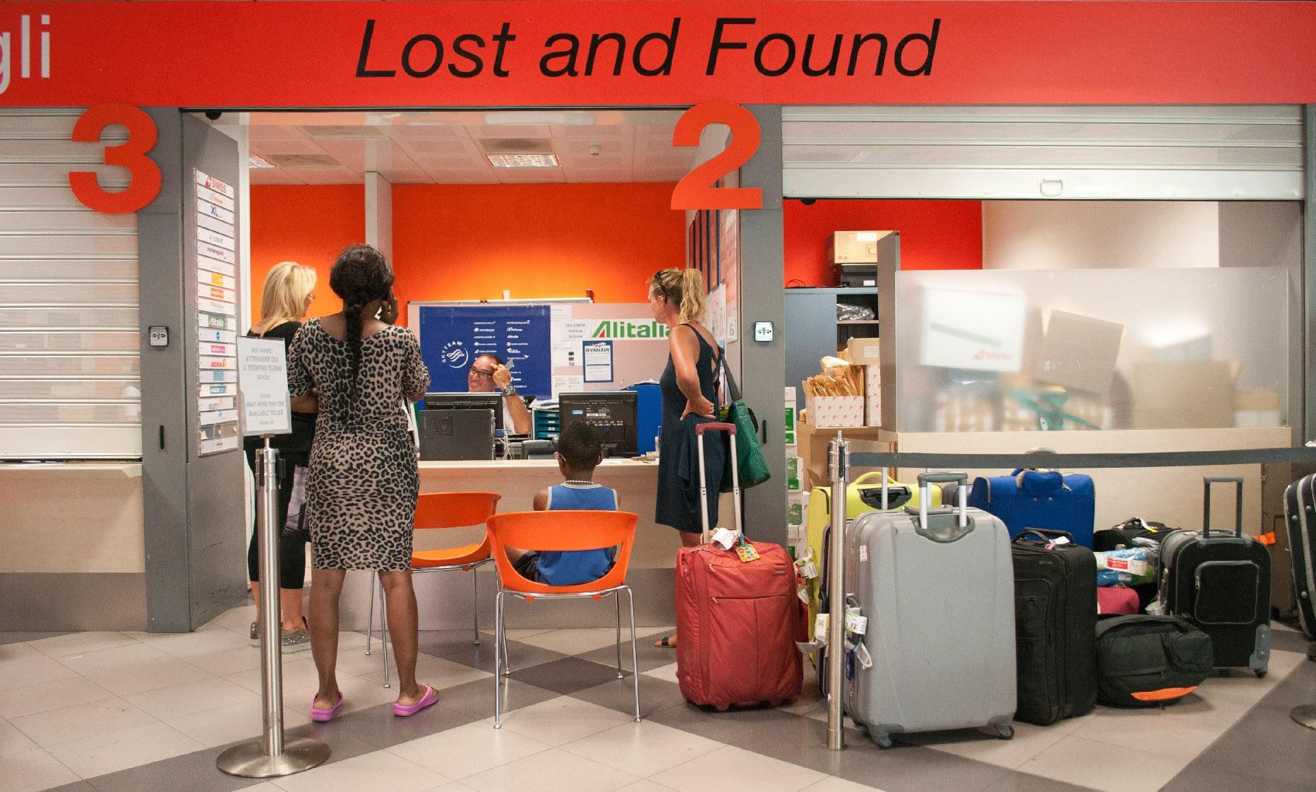 Ufficio bagagli smarriti
